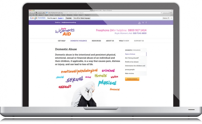 Foyle Women's Aid launches its new website
