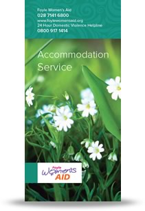 Foyle Women's Aid Accommodation Services Leaflet Cover